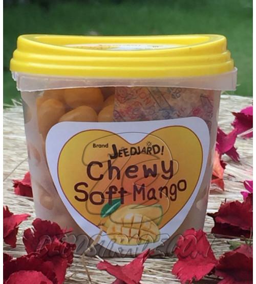 Мягкие жевательные конфеты «Манго» от Jeedjard Chewy, Soft Mango Candy, 80 гр