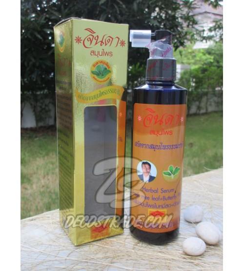 Травяной лосьон против выпадения волос интенсивного действия Jinda, Herbal Hair Renew Lotion, 250 мл