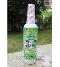 Травяной лосьон против выпадения волос c Mee leaf и мотыльковым горошком от Jinda, Hair lotion fresh Mee leaf & butterfly pea, 120 мл