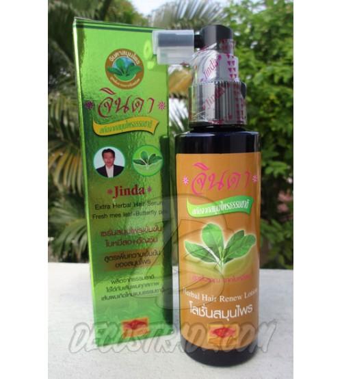 Лечебная травяная сыворотка для волос от Jinda, Extra Herbal Hair Serum, 120 мл