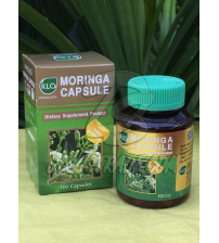 Фитокапсулы Моринга от Khaolaor, Moringa Capsule Dietary Supplment Product, 100 капсул