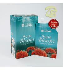 Легкий охлаждающий крем-гель для лица Aqua Bloom от Le' Skin, Aqua Bloom Cooling Gel Cream, 8 мл (набор 6 шт)
