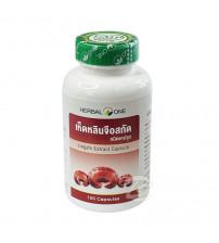 Экстракт гриба Линчжи в капсулах для иммунной системы от Herbal One, Lingzhi Extract, 100 капсул