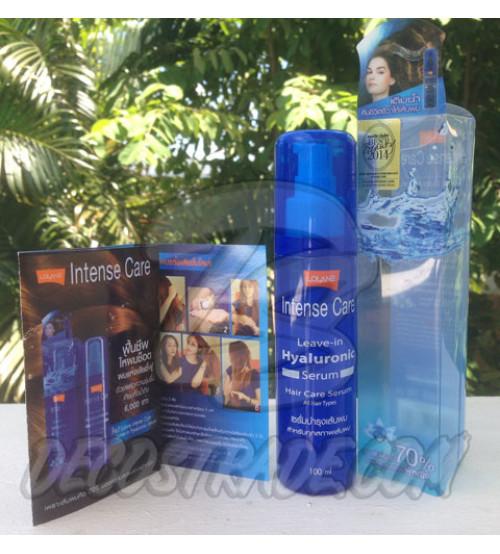 Увлажняющая несмываемая сыворотка для волос с гиалуронвой кислотой от Lolane, Intense Care Leave-in Hyaluronic Serum, 100 мл