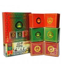 Набор мини мыло спа ароматы 6 шт по 50 гр от Madame Heng Natural Balance Soap Care Spar Set 6*50 g