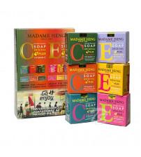 Набор мини мыло витамин E & C 6 шт*50 гр от Madame Heng Vitamin E & C Soap Set 6*50 g