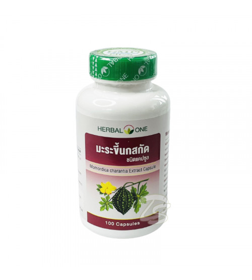 Биодобавка с Момордикой для нормализации уровня сахара в крови и профилактики диабета от Herbal One Momordica Charantia Extract Capsule 100 Capsules