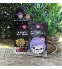 Угольный патч для очищения носа от черных точек и пробок от Cathy Doll, Super Girl Charcoal Nose Cleansing Strip, 1 шт