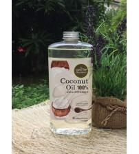 Натуральное 100% кокосовое масло холодного отжима от Phutawan 1000 мл, Natural Coconut Oil 100% Gold Processed,
