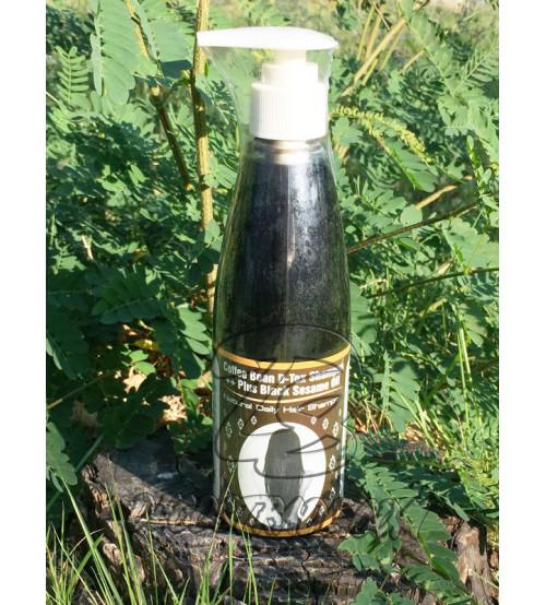Детокс шампунь с Кофе и Черным кунжутом от PumeDin, Coffee Bean D-Tox Shampoo Plus Black Sesame Oil, 300 мл