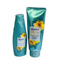 Набор шампунь и кондиционер для ежедневного ухода с папайей от Rejoice Daily Moisture Smooth with papaya Shampoo 140ml + Conditioner 120ml