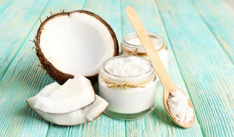 Природные средства для волос: кокосовое масло