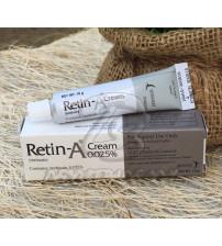 Ретина-А Третиноин крем 0,025%, Retin-A Cream Tretinoin 0,025%, 10 гр