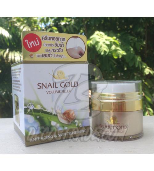 Омолаживающий улиточный крем для лица от BM.B, Snail Gold Volume Filler, 15 гр