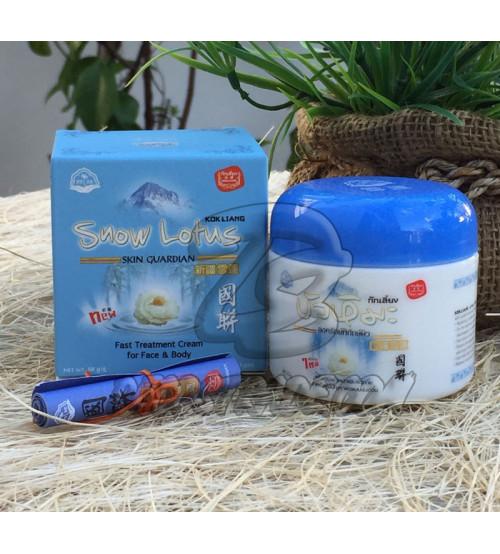 Лечебный, заживляющий крем «Снежный лотос» от Kokliang, Snow Lotus Cream, 50 гр