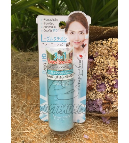 Лосьон от акне и жирного блеска от Snowgirl, Anti - Acne & Oil Control Powder Lotion, 60 мл