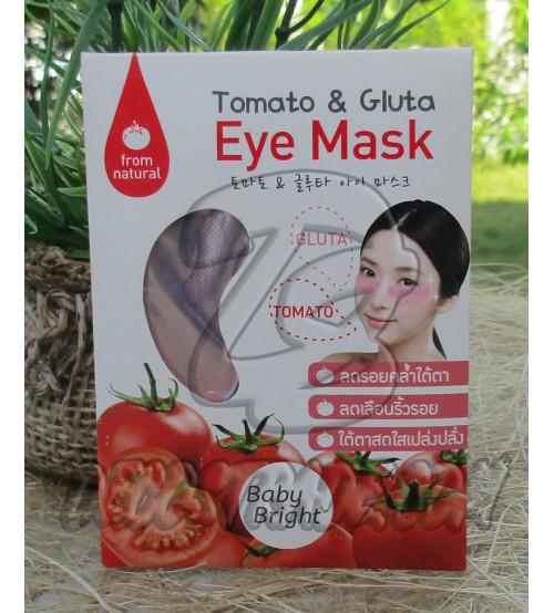 Коллагеновые маски-дольки вокруг глаз с Томатом и Глутатионом от Baby Bright, Tomato & Gluta Eye Mask