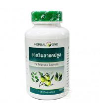 Биоактивная добавка для очищения (детокс) организма Трифала от Herbal One Ya Triphala 100 Capsules