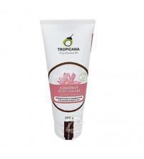 Натуральное 100% кокосовое масло холодного отжима от Tropicana Oil 100 мл, Natural Coconut Oil 100% (12 бутылок)