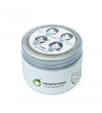 Универсальный кокосовый скраб для лица и тела от Tropicana, Desiccated Coconut Oil Scrub, 120 гр