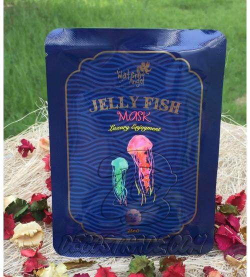 Увлажняющая тканевая маска с экстрактом Медузы от Water Angel, Jelly Fish Mask, 25 мл