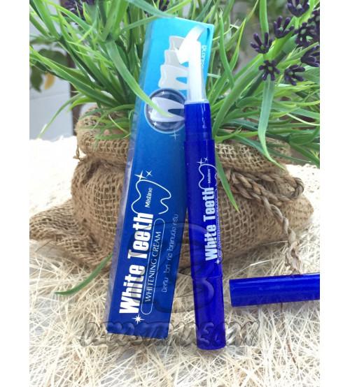 Концентрированный отбеливающий крем для белоснежной улыбки от Mistine, White Teeth Whitening Cream, 2,3 гр